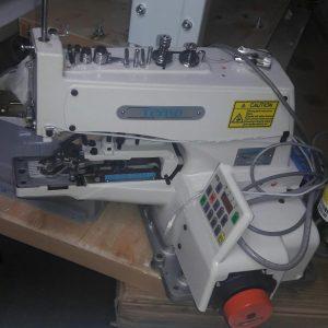 Máquina industrial marca Teyko para botones modelo Tk-1377D con Direct Drive