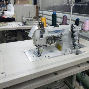 Máquina de coser TK-500-01D Mueble sumergido , motor direct drive.